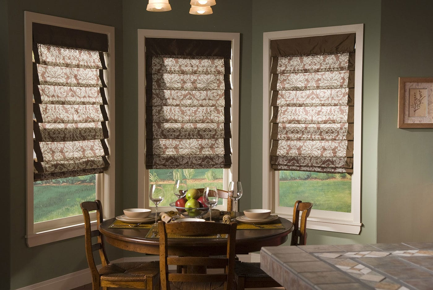Custom Soft Shades for Fabric Window Treatments Near Chicago, Illinois (IL) Including Horizon Blinds in Nooks