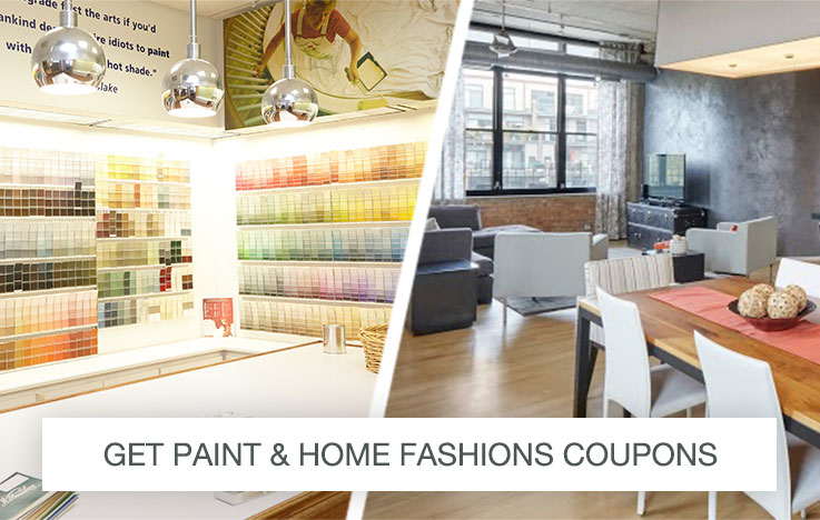 Get Paint and Home Fashions Coupons
